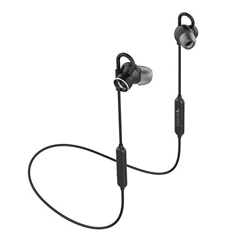 Bluetooth Earphones, CLOUD FOX H4 IPX6 Waterproof Bluetooth Headphones, Wireless Sport Magnetic Earbuds with Mic, Hi-Fi Stereo in-Ear Earphones, Quick Charge, 8Hrs Playtime, Secure Fit for Gym