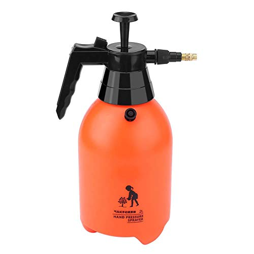 Handheld Pressure Sprayer,Portable Handheld Easy to Trigger Water Pressure Sprayer Watering Tool with high Pressure Water Spraying&misting Modes for Home/Garden/Balcony/Plant(2L)