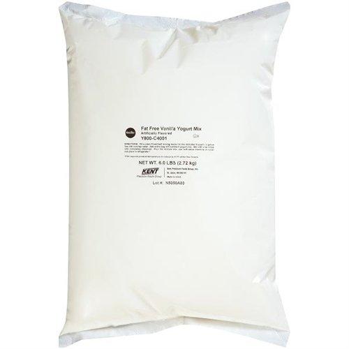 Frostline Vanilla Fat Free Yogurt Mix, Large 6 Pound Bag