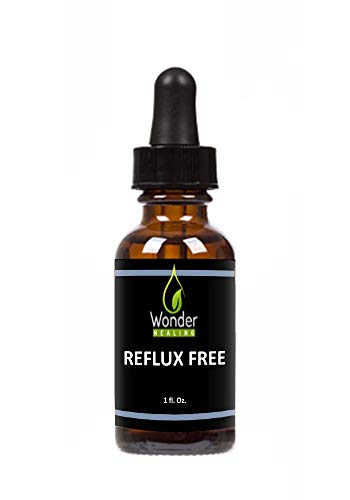 Reflux Free Natural Herbal Supplement - Anticolic Drops for Infants and Babies with Colic, Acid Reflux, Gas, Constipation - for Children and Adults - by Wonder Healing (30ml)