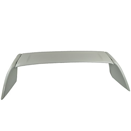 Pre-painted Trunk Spoiler Fits 2002-2006 Acura RSX | Type R ABS Painted Premium White Pearl #NH624P Boot Lip Rear Spoiler Wing Deck Lid Other Color Available By IKON MOTORSPORTS | 2003 2004 2005