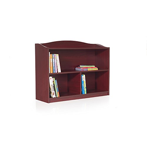 Guidecraft 3-Shelf Cherry Bookcase - Shelves, Home & Office Organizer Furniture, Book Display by Guidecraft