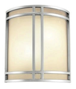 Ada Wall Washer - Access Lighting 20420-SAT/OPL Artemis ADA Cage Wall Sconce, Satin Finish with Opal Glass Shade