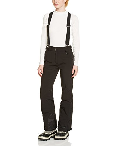 donna con Pantaloni rimovibili bretelle softshell nero Killtec bordi rinforzati e ECZ4wqw