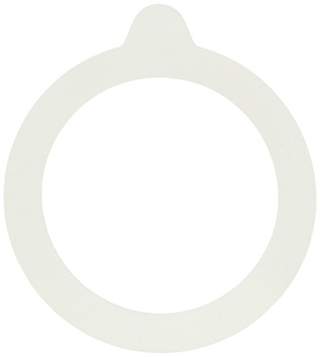 (Bormioli Rocco Jar Replacement Gaskets (Set Of 6): 3.5'' Diameter Fido Jar Compatible, Food Grade Rubber, Leakproof Sealing Rings For Standard Sized Mouth Canning And Storage Containers)