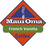 Hawaiian Value Pack Maui Oma Coffee 5 Bags 1 lb. each Bean French Vanilla