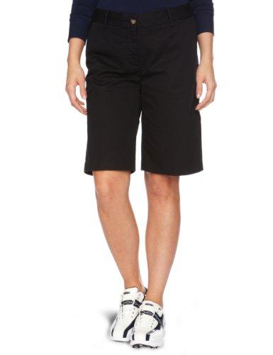 Tommy Hilfiger Arielle algodón Solid–Pantalones cortos para mujer negro