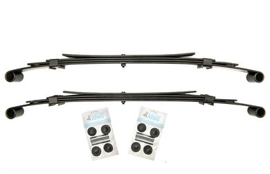 Club Car Precedent Golf Cart Heavy Duty Rear Leaf Springs ()