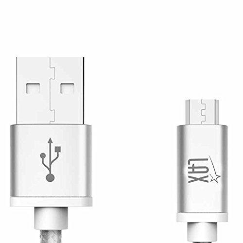 LAX Gadgets Charging Motorola Feet Silver