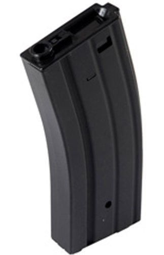- M4 / M16 - 300 Round Airsoft Hi-Cap Magazine Clip AEG Electric Rifles - METAL -