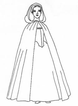Diagrams for 1300 - 1900's Woman's Long and Short (Joffrey Baratheon Costume)