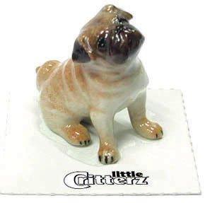 Porcelain Puppy (PUG Dog