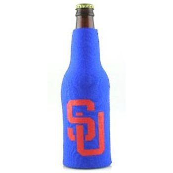 NCAA Syracuse Orange Blue Sports Fan Cold Beverage Koozies, Team Color, One ()