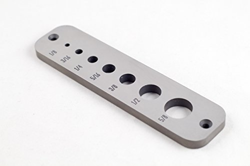 (A2 Tool Steel Dowel Plate (Standard))