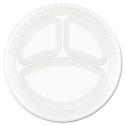 Concorde Non Laminated Foam Dinnerware - Dart 9CPWC 9