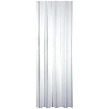 "Spectrum CT3280T Contempra 24"" to 36"" x 80"" Accordion Folding Door, Sand White"