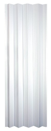 "Spectrum CT3280T Contempra 24"" to 36"" x 80"" Accordion Folding Door, Sand White"