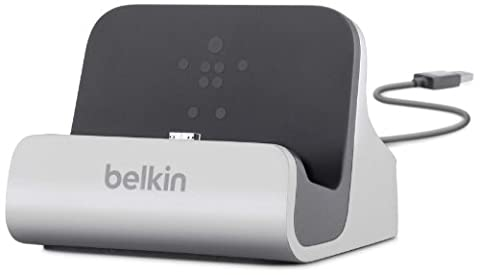 Belkin PowerHouse Micro USB Charge and Sync Dock for Samsung Galaxy S4 (Compatible with Galaxy S3, S4 Mini and LG (Samsung S4 Mini Charger Dock)
