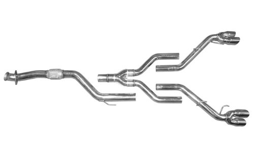 Cat Back Exhaust Kit for 2006 - 2009 Saturn Sky Redline Street Race Dual Exhaust System - Sky Cat Back Exhaust System