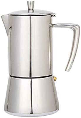 Filtro de café Moka Pot Mocha Coffee Pot Café de Acero Inoxidable ...
