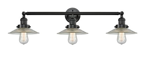 Halophane 3 Light - 3 Light Halophane 32 inch Bathroom Fixture