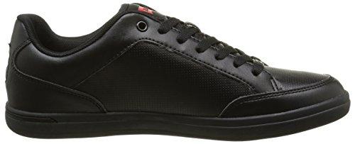 60 Noir Lacées Chaussures Levi's Core Aart Homme qgP16S4wx