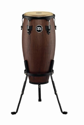 Designer Series Congas (Meinl Percussion HC11VWB-M Headliner Designer Series 11-Inch Quinto with Basket Stand, Vintage Wine Barrel, Matte)