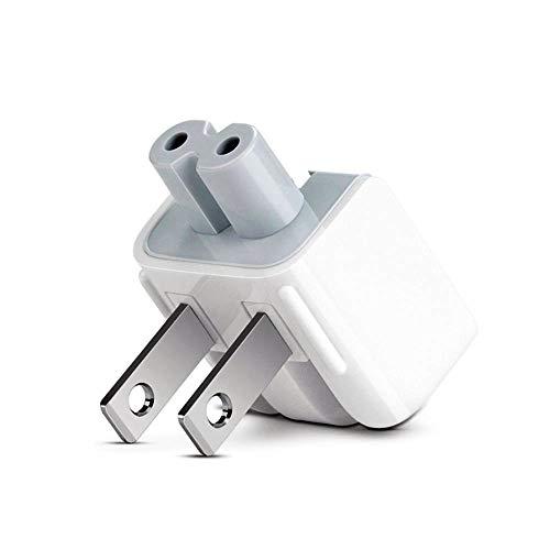 (AC Power Adapter US Standard Plug, Folding Plug Duck Head, Travel Charger Adapter for MacBook Mac iBook/iPhone/iPod AC Power Adapter)