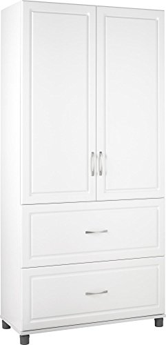 SystemBuild 7364401PCOM Kendall 2 Door/2 Drawer Storage Cabinet 36