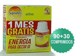 169016 BAYER SUPRADYN PACK 90 + 30 COMPRIMIDOS