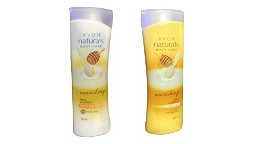 Avon Milk And Honey Shower Gel And Lotion(Set of 2)