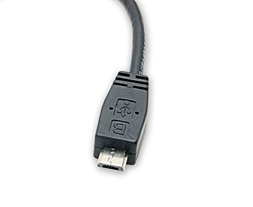 Syba USB 2.0 Type A Female to Micro USB 2.0  Male Adapter Cable (CL-CAB20125)