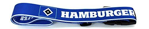Set: HSV Hamburger SV Nackenrolle und Kofferband Nackenkissen Dekokissen Autokissen Relaxkissen Kissen gepäckband