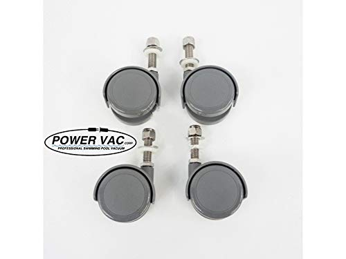 Power Vac 026-D Wheels Caster Set of 4