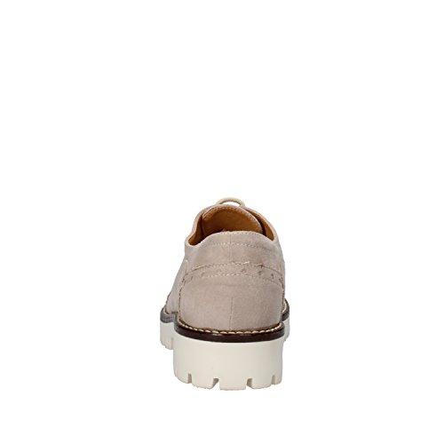 OLGA RUBINI zapatos elegantes mujer Azul /beige gamuza Beige