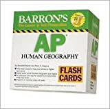 img - for Barron's AP Human Geography Flash Cards Publisher: Barron's Educational Series; Crds edition book / textbook / text book