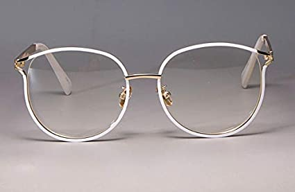 bceb91c9e443 Image Unavailable. Image not available for. Color  2019 Fashion Ladies Cat Eye  Glasses Frames for Women Metal Frame UV400 Designer ...