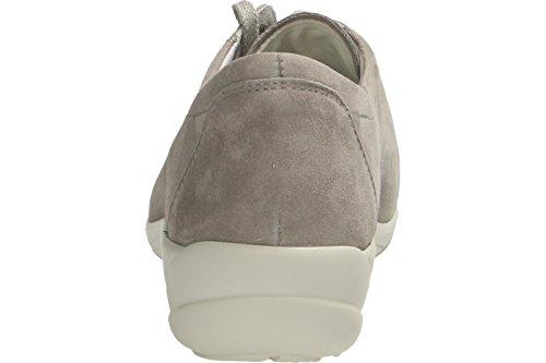 Semler B6055.042.015 - Zapatos de cordones de Piel para mujer gris gris perle042-015