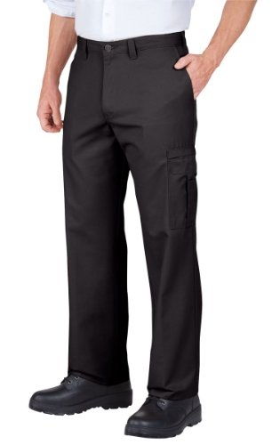 Dickies Occupational Workwear 2112372DC 38x32 Polyester/ Cotton Relaxed Fit Men's Premium Industrial Cargo Pant with Straight Leg, 38