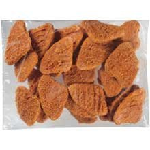 Tyson Red Label Hot N Spicy Breaded Chicken Breast Patty  5 Pound    2 Per Case