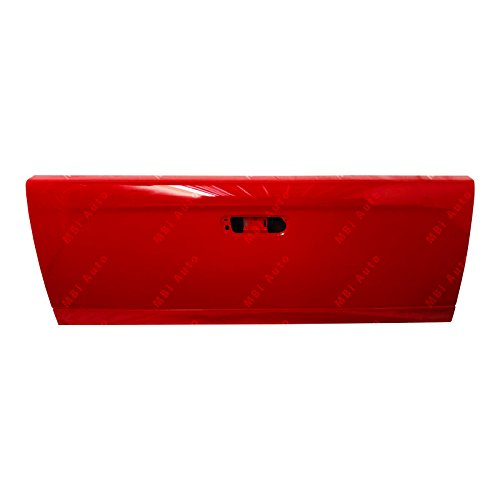 (Painted Tailgates ch1900121P-PR4 Dodge Ram Truck Tailgate Painted Flame Red Clear Coat)