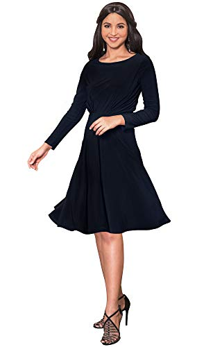 KOH KOH Petite Womens Long Sleeve Dressy A-line Fall for sale  Delivered anywhere in USA