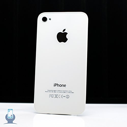 Iphone 4 GSM Back Door Cover A1332 (White) for sale  Delivered anywhere in USA