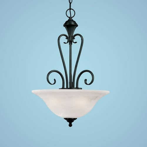 Devonshire 3 Light Pendant Finish: Black