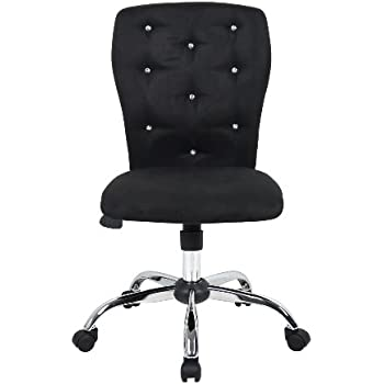 boss office products b220bk tiffany modern office chair in black
