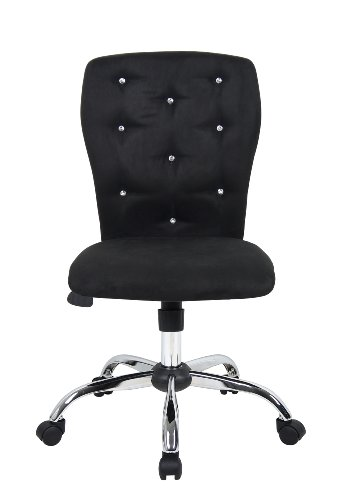Boss Office Products B220-BK Tiffany Modern Office Chair in Black