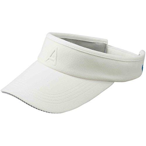 アディダス Adidas 帽子 ADICROSS デボスAロゴサンバイザー レディス ホワイト フリー