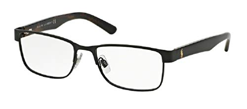 Polo Ralph Lauren PH1157 Rectangle Eyeglasses For Men+FREE Complimentary Eyewear Care Kit
