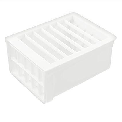 eDealMax plástico de la cocina del rectángulo hecho a mano Presione el fabricante del queso de