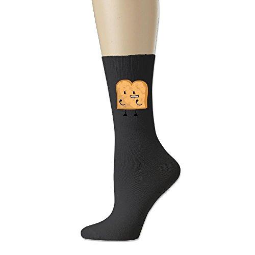 Sock Home Unisex Funny Toast Bread Cotton Socks Casual Athletic Sock